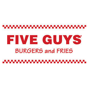 Five Guys burgers and Fries.