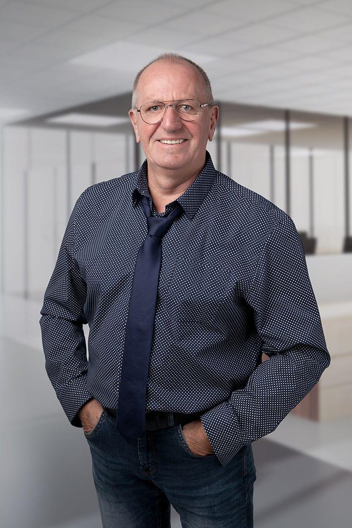 Patrick de Vriend, rayonmanager Blinck.
