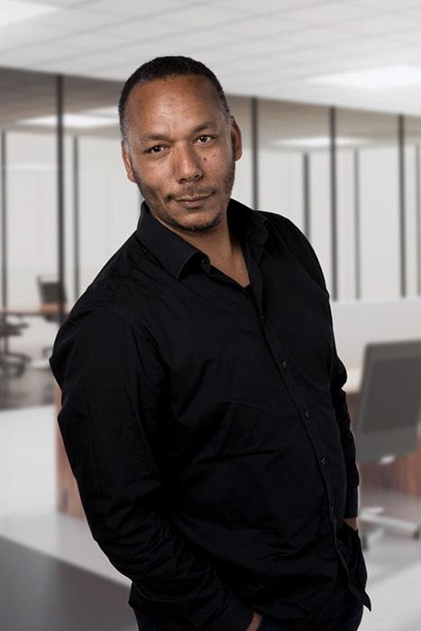Aziz Kherazi, projectleider bij Blinck.