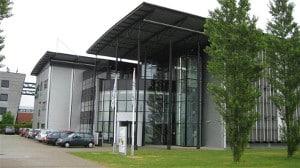 Het hoofdkantoor van schoonmaakbedrijf Blinck aan de Microfoonstraat in Almere